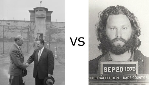 The difference between going to prison and a lawyer visiting a prison - copyright Boston Public Library (@whatie) https://www.flickr.com/photos/boston_public_library/