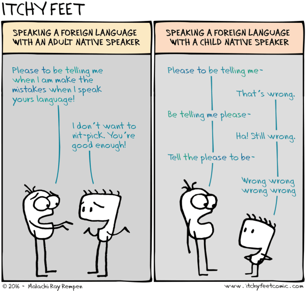 Vignetta critico ideale - copyright Itchy Feet http://www.itchyfeetcomic.com/2016/01/ideal-critic.html