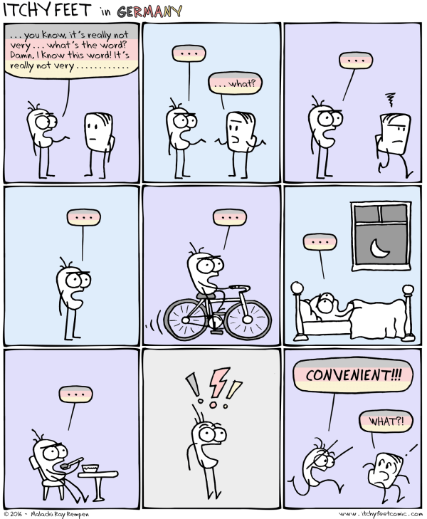 Mental block cartoon - copyright Itchy Feet http://www.itchyfeetcomic.com/2016/07/mental-plug.html