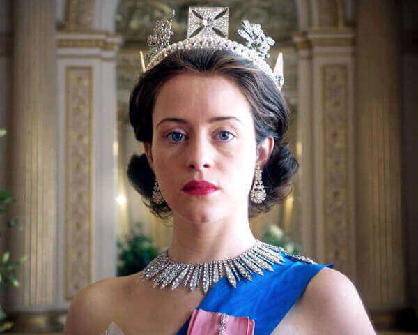 The character of Queen Elizabeth II in The Crown - copyright Netflix