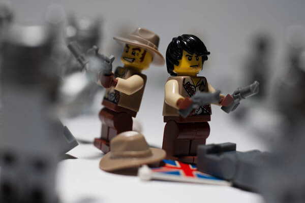 Getting competitive last stand in Lego - copyright Jonathan_W (@whatie) http://www.flickr.com/photos/s3a/
