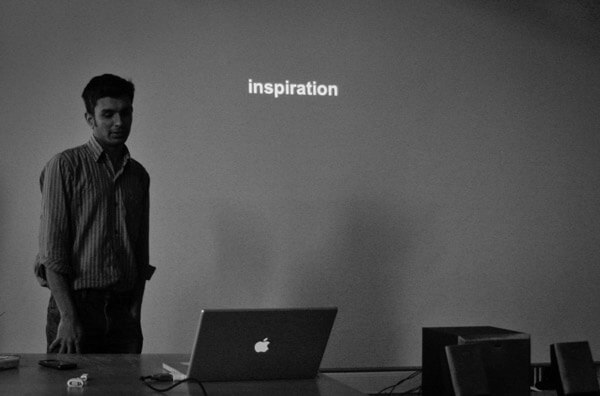 Finding inspiration - copyright TobiaStoft http://www.flickr.com/photos/tobiastoft/