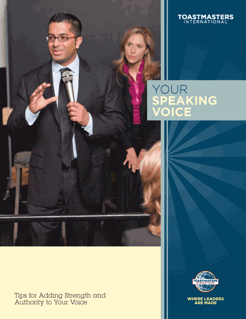 Your Speaking Voice - click to download a PDF copy