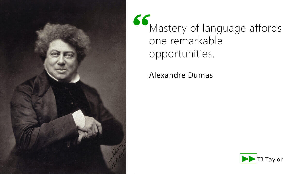 Quote from Alexandre Dumas - click to read more