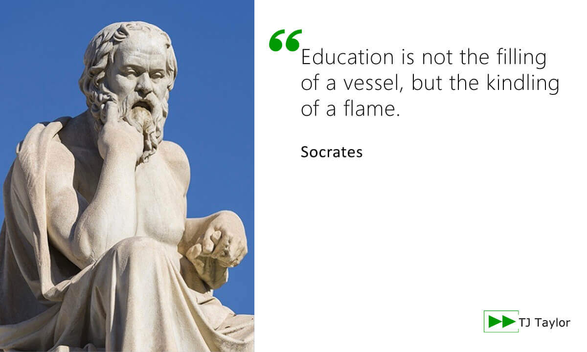 Quote from Socrates - click to read more